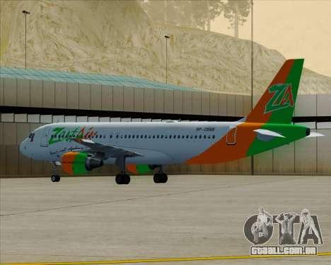 Airbus A320-200 Zest Air para GTA San Andreas