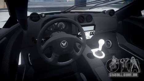 Mosler MT900 para GTA 4 vista de volta