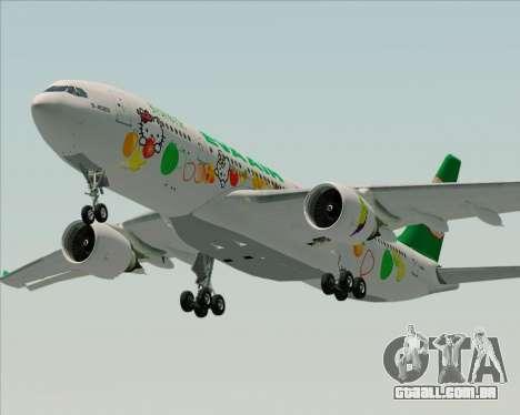 Airbus A330-200 EVA Air (Hello Kitty) para o motor de GTA San Andreas