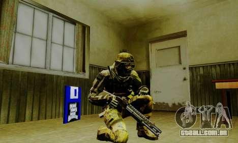 Weapon pack from CODMW2 para GTA San Andreas oitavo tela