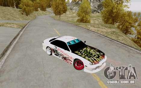 Nissan Silvia S14 VCDT para GTA San Andreas vista traseira