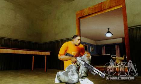 Weapon pack from CODMW2 para GTA San Andreas segunda tela