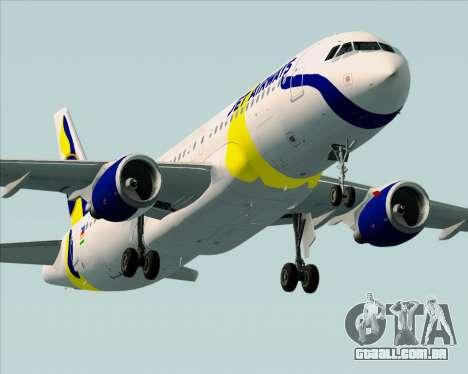 Airbus A320-200 Jet Airways para o motor de GTA San Andreas