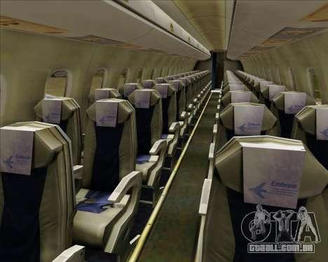 Embraer E-190-200LR House Livery para as rodas de GTA San Andreas