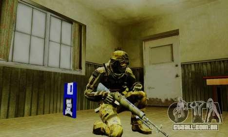 Weapon pack from CODMW2 para GTA San Andreas décima primeira imagem de tela