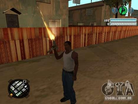 Respect C-HUD para GTA San Andreas segunda tela
