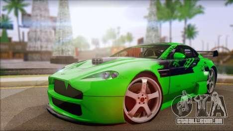 Aston Martin Vantage N400 para GTA San Andreas