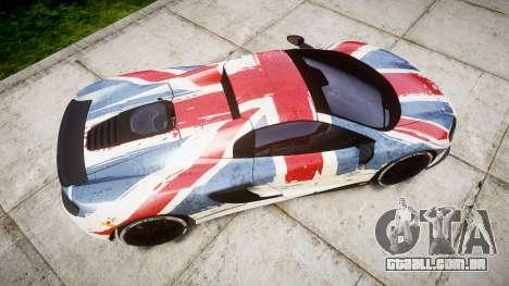 McLaren 650S Spider 2014 [EPM] v2.0 UK para GTA 4 vista direita