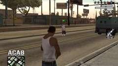 C-HUD by Edya para GTA San Andreas