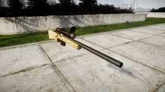 Sniper rifle com o HQ texturas