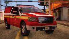Ford F150 Fire Department Utility 2005 para GTA San Andreas
