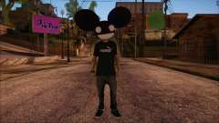 Deadmau5 Skin para GTA San Andreas