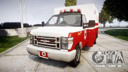 Vapid V-240 Ambulance para GTA 4