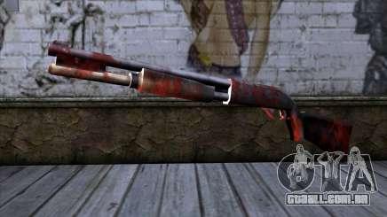 Chromegun v2 Apocalipse colorir para GTA San Andreas
