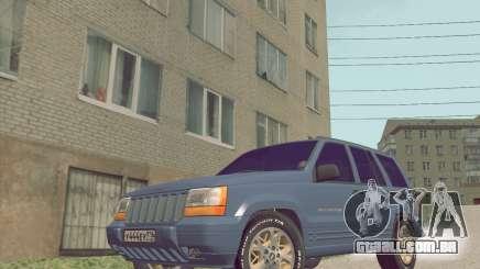 Jeep Grand Cherokee ZJ para GTA San Andreas