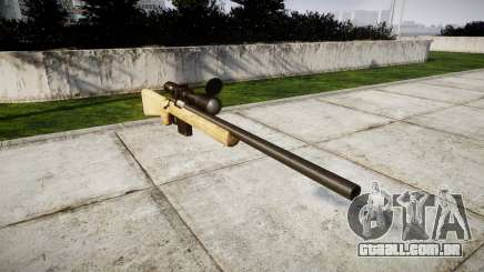 Sniper rifle com o HQ texturas para GTA 4