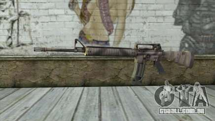 M16A4 from Battlefield 3 para GTA San Andreas
