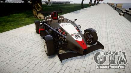 Ariel Atom V8 2010 [RIV] v1.1 Garton Racing Team para GTA 4