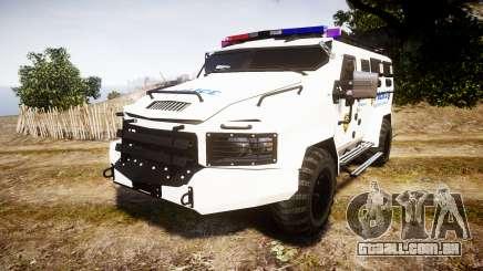 SWAT Van Police Emergency Service para GTA 4