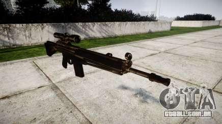 Rifle G3SG1 para GTA 4