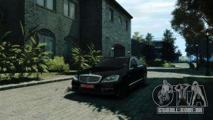 Mercedes-Benz W221 S63 AMG para GTA 4