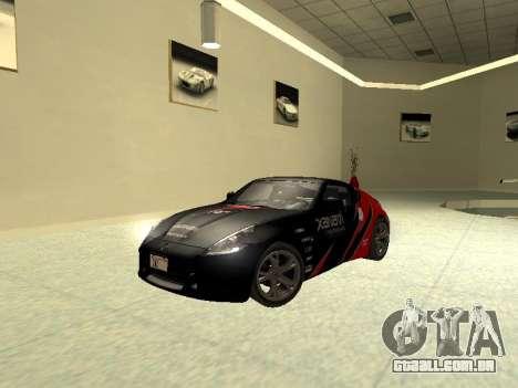 Nissan 370 Z Z34 2010 Ajustável para vista lateral GTA San Andreas