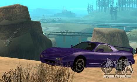 Beta ZR-350 para o motor de GTA San Andreas