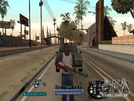 CLEO HUD SWAGG para GTA San Andreas