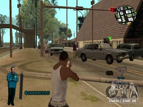FBI HUD para GTA San Andreas segunda tela