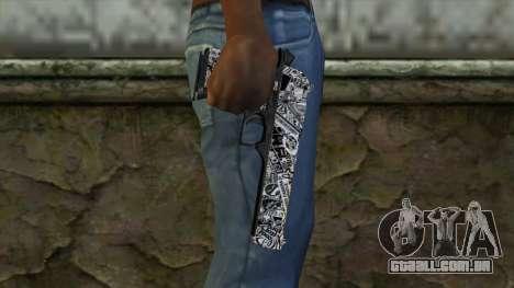 Nova Arma v2 para GTA San Andreas terceira tela