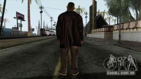 GTA 4 Skin 2 para GTA San Andreas segunda tela