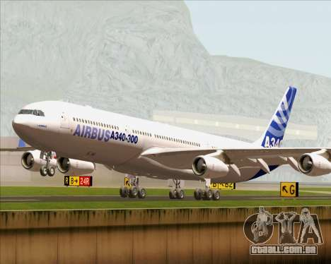 Airbus A340-300 Airbus S A S House Livery para GTA San Andreas