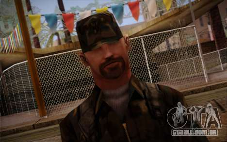 Soldier Skin 3 para GTA San Andreas terceira tela