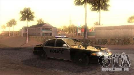 GTA 5 ENB para GTA San Andreas quinto tela