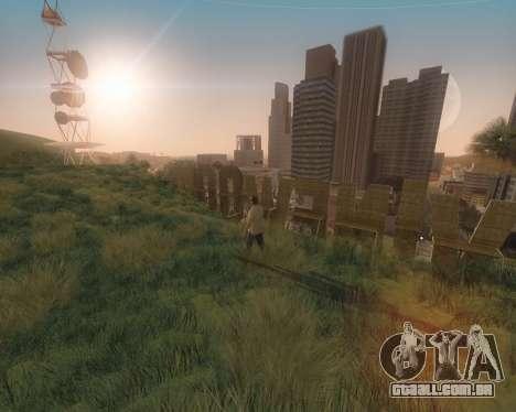 GTA 5 ENB para GTA San Andreas por diante tela