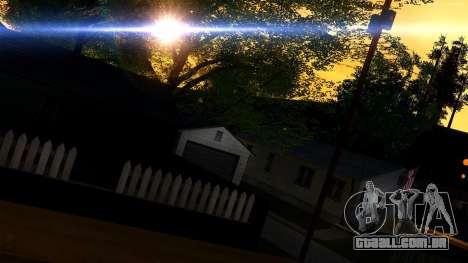 Forza Prata ENB Series para baixa de PC para GTA San Andreas terceira tela