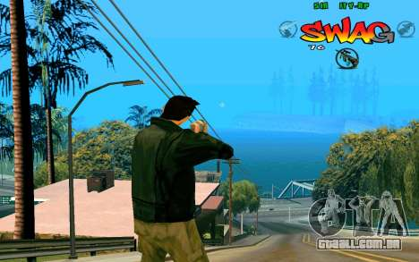 C-HUD Swag para GTA San Andreas segunda tela