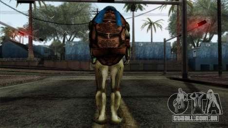Leo (Tartarugas Ninja) para GTA San Andreas segunda tela