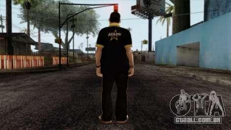 GTA 4 Skin 12 para GTA San Andreas segunda tela