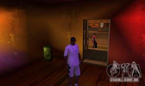 New OG Lock House para GTA San Andreas por diante tela