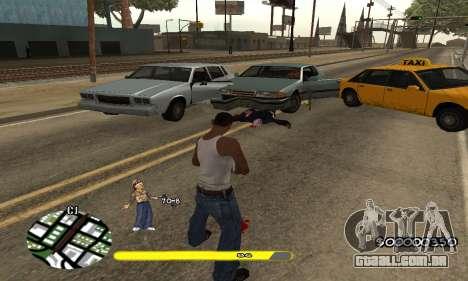 C-HUD Vagos para GTA San Andreas terceira tela