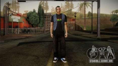 Gedimas Jamal Skin HD para GTA San Andreas