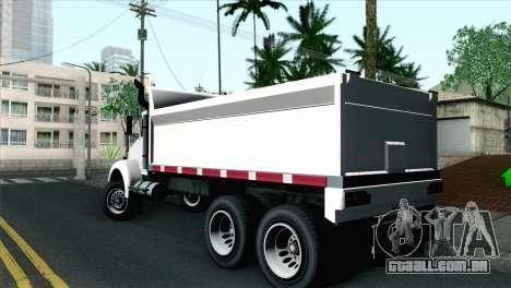 GTA 4 DFT-30 para GTA San Andreas esquerda vista