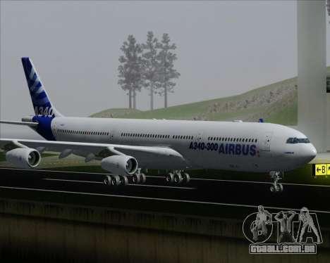 Airbus A340-300 Airbus S A S House Livery para as rodas de GTA San Andreas