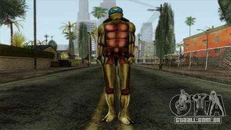 Leo (Tartarugas Ninja) para GTA San Andreas