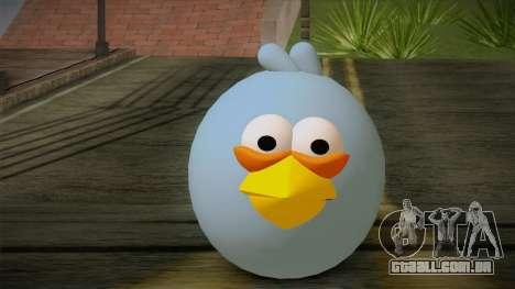 Blue Bird from Angry Birds para GTA San Andreas terceira tela