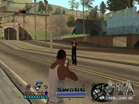 CLEO HUD SWAGG para GTA San Andreas terceira tela