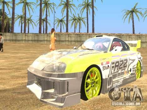 Simples ENB para baixa de PC para GTA San Andreas terceira tela