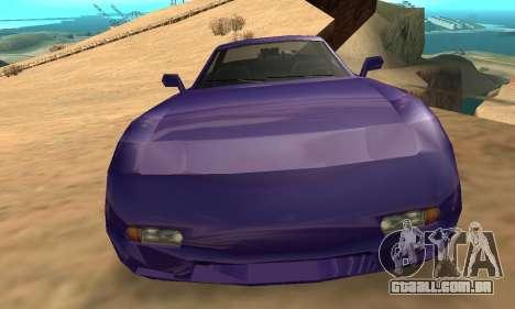 Beta ZR-350 para GTA San Andreas interior