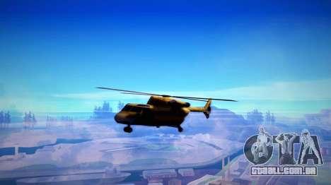 FaFan ENB series para GTA San Andreas sexta tela